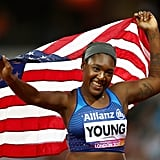 Deja Young, Para Track and Field
