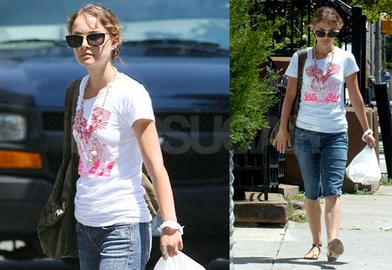 Photos of Natalie Portman in NYC