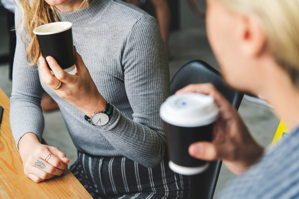 Make a coffee or phone date with a good friend, and ask them what they like about you.