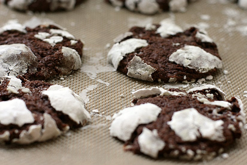 The Cutest Chocolate Crinkles