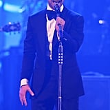 "Justin Timberlake performed his song ""Suit & Tie"" live for the first time at the DIRECTV Super Saturday Night in New Orleans."