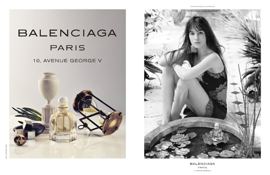 Balenciaga Paris Advertisement with Charlotte Gainsbourg