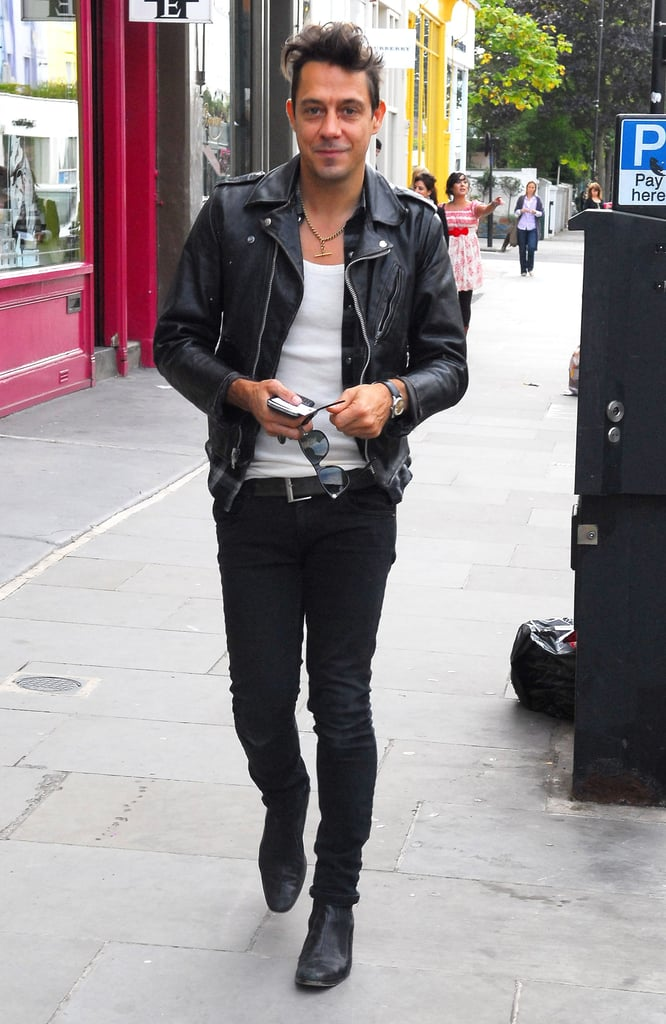 Jamie Hince and Kate Moss Out in London