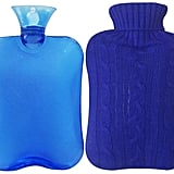 Attmu Classic Rubber Transparent Hot Water Bottle With Knit Cover in Blue ($11)
