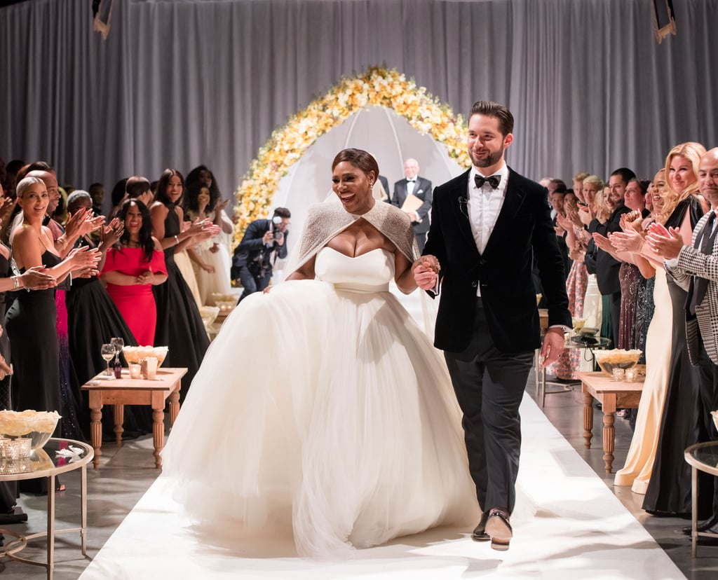 "Serena Williams married fiancé Alexis Ohanian on Nov. 16 in New Orleans, and the gorgeous photos from their Beauty and the Beast-themed wedding prove it was a magical affair. The 23-time Grand Slam champion and Reddit cofounder exchanged vows in front of family and friends, including Serena's sister, Venus, and celebrity pals Beyoncé, Kim Kardashian, Ciara, Eva Longoria, and Vogue Editor-in-Chief Anna Wintour. Serena wore a stunning Alexander McQueen dress when she walked down the aisle with her husband, who wore a black and gray tuxedo.  According to ET, Serena and Alexis's high-profile guests were greeted with ""Be Our Guest"" upon arrival and sipped cocktails before the ceremony. The newlyweds' 2-month-old daughter, Alexis Olympia, was also on hand to witness the sweet union and pose for adorable photos with her parents. Read on to see more exclusive pictures from Serena's fairy-tale wedding, courtesy of Vogue magazine.      Related:                                                                                                           25 Times Serena Williams and Alexis Ohanian's Romance Was a Grand Slam"