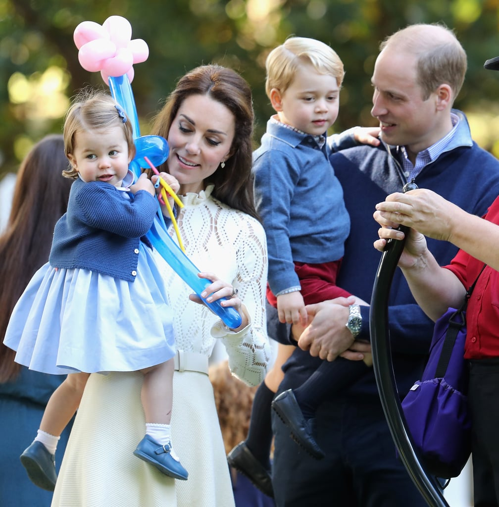 We love catching glimpses of Prince George and Princess Charlotte's adorable bond, but we particularly love seeing them in their matching outfits. The Duke and Duchess of Cambridge really seem to enjoy colour-coordinating their children's ensembles, and their outfits always include some shade of blue. The royal family is currently in the middle of their official tour of Poland and Germany, and Charlotte and George have already rocked not one but six matching looks. Keep reading to see Charlotte and George's best twinning moments.       Related:                                                                                                           Princess Charlotte Just Rocked the Hell Out of Her Uncle Harry's Hand-Me-Down Shoes