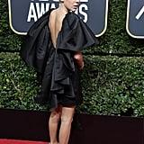 Millie Bobby Brown's Black Dress at the Golden Globes 2018