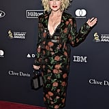 Cyndi Lauper at Clive Davis's 2020 Pre-Grammy Gala in LA