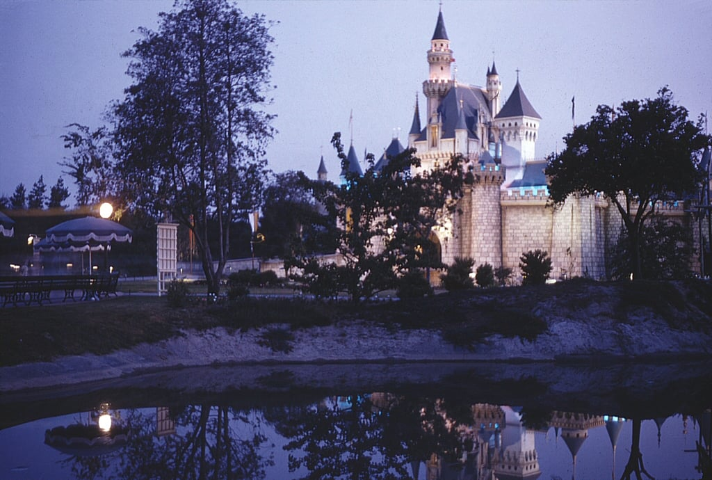 On Disneyland's opening day, the asphalt did not set in time.