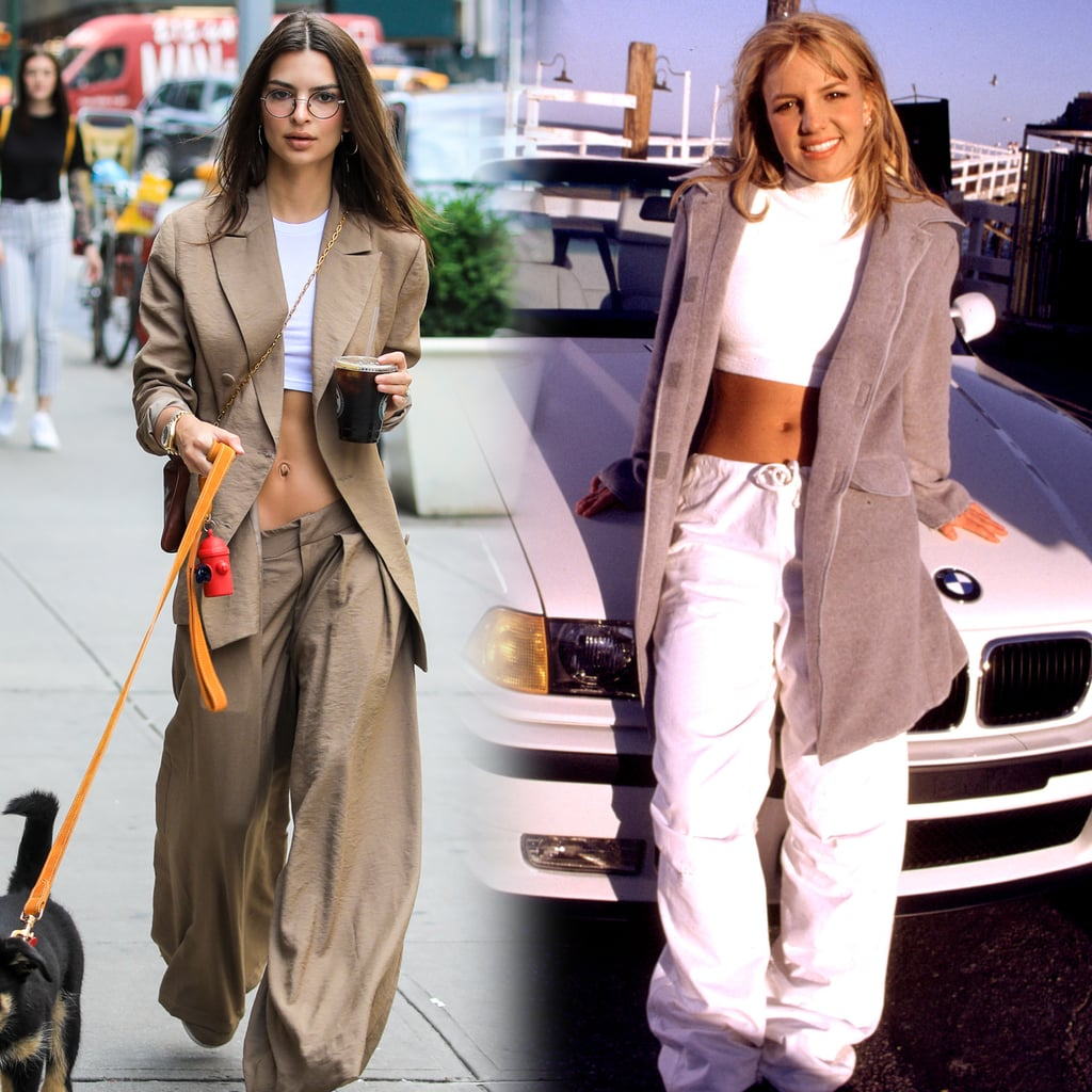 """Emily Ratajkowski's Crop-Top Situation Will Make You Think 1 Thing: """"It's Britney, B*tch"""""""