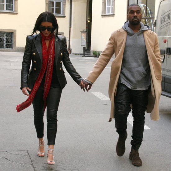 Pictures Kim Kardashian And Kanye West On Their Honeymoon