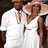 Ne-Yo and wife Crystal Renay were a vision in white in 2015.