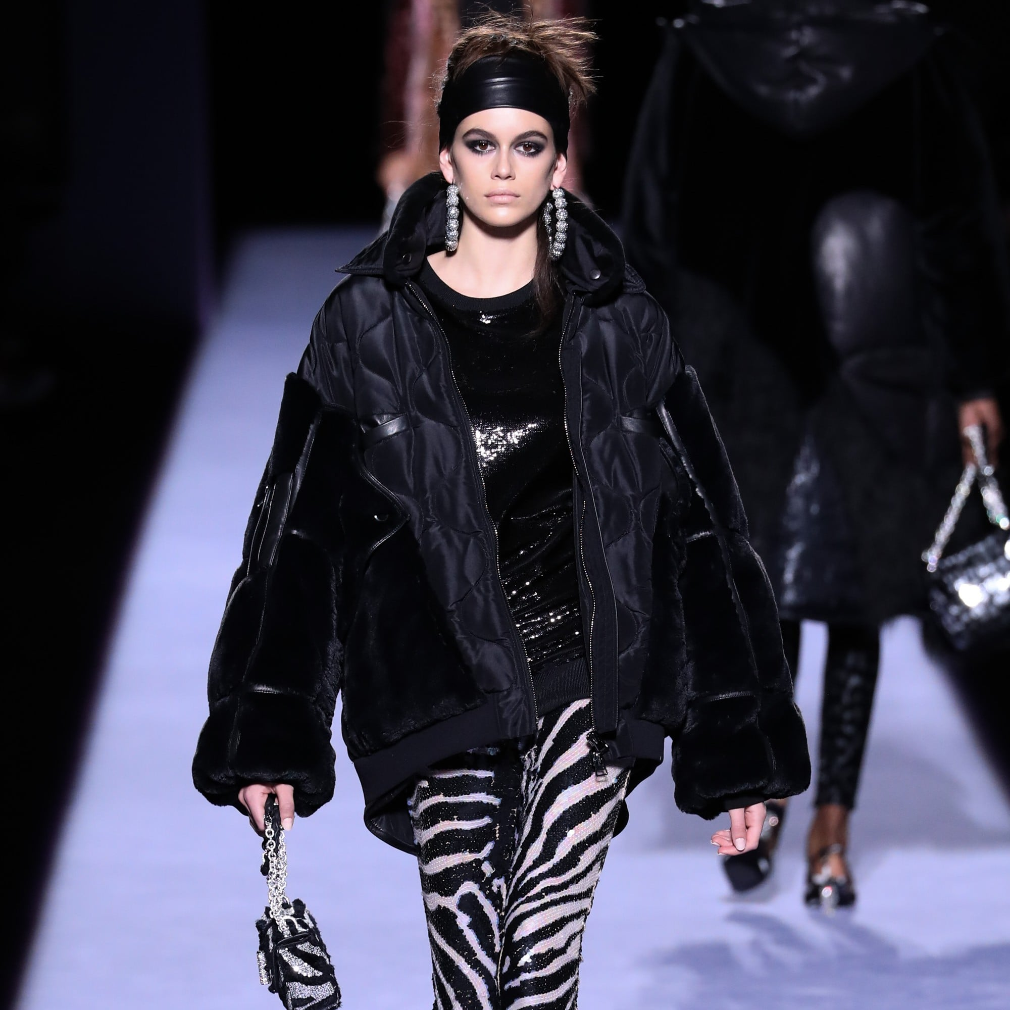 1f64d89b79d7 Kaia Gerber at Fashion Week Fall 2018