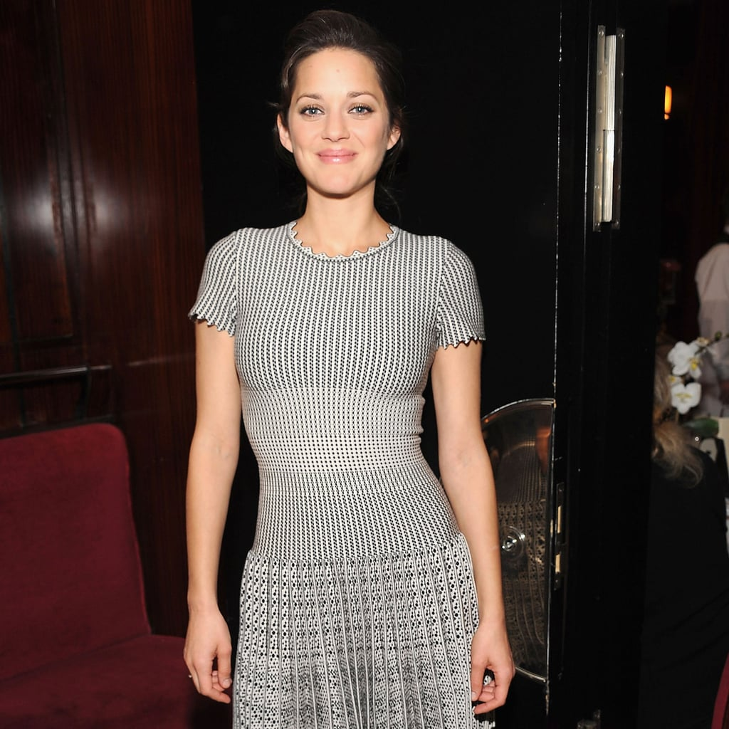 Marion Cotillard Has Lunch With Sexy Rust And Bone Co-Star
