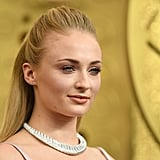 Sophie Turner at the 2019 Emmys