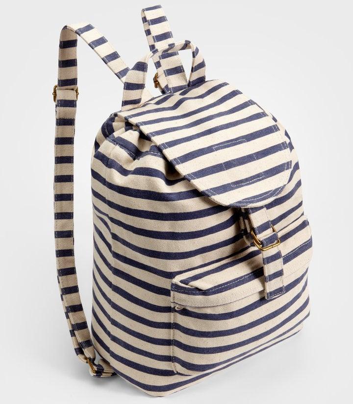 Baggu's Sailor Striped Backpack