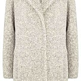 Mint Velvet Neutral Textured Coat (£189)