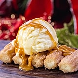 Churro Bites With Eggnog Gelato