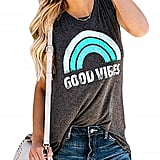 Graphic Good Vibes Tank Top