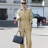 The Outfit: A Jumpsuit + Bag + Heels