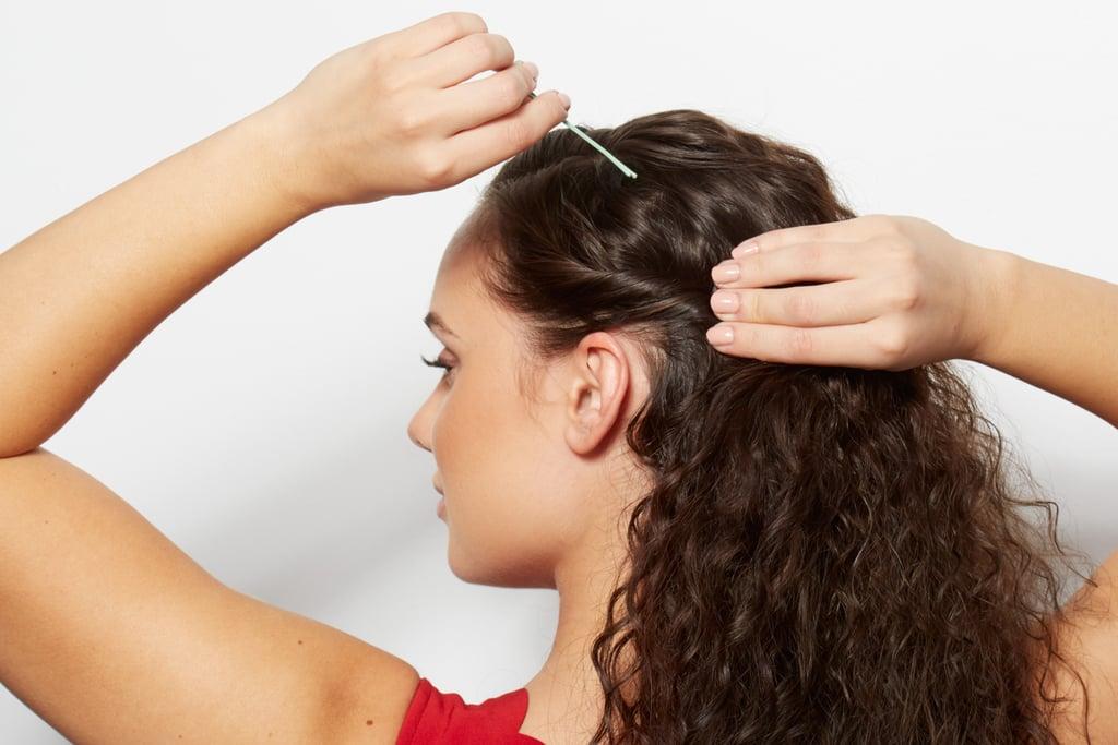 Bonus Step: Pull the Sides of Your Hair Back