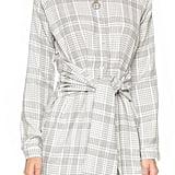 J.o.a. Plaid Tie Front Dress ($105)