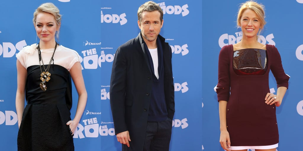 The Croods NYC Premiere: Ryan Reynolds and Blake Lively