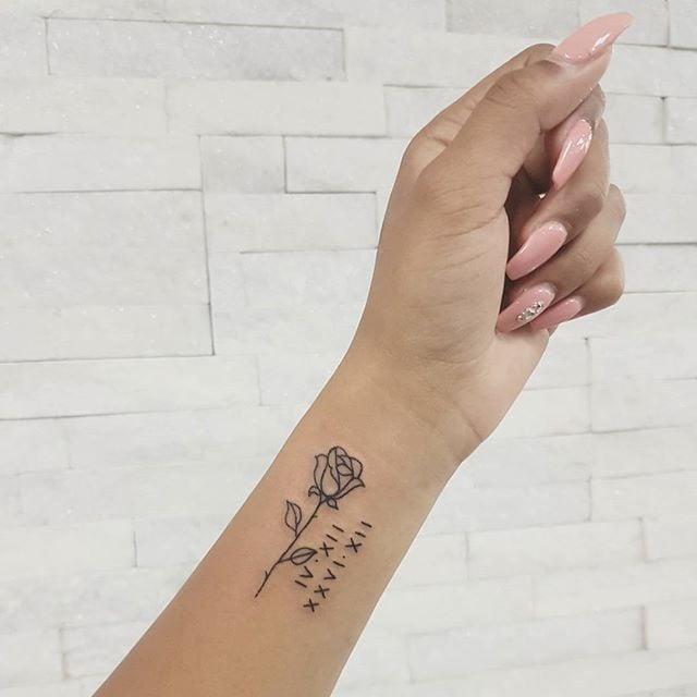 Roman Numeral Tattoo Ideas Popsugar Beauty