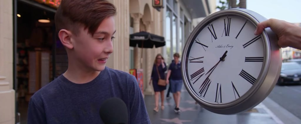 Jimmy Kimmel Video Asking Kids to Tell Time