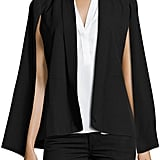Love Scarlett Cape-Sleeve Jacket, Black ($69)