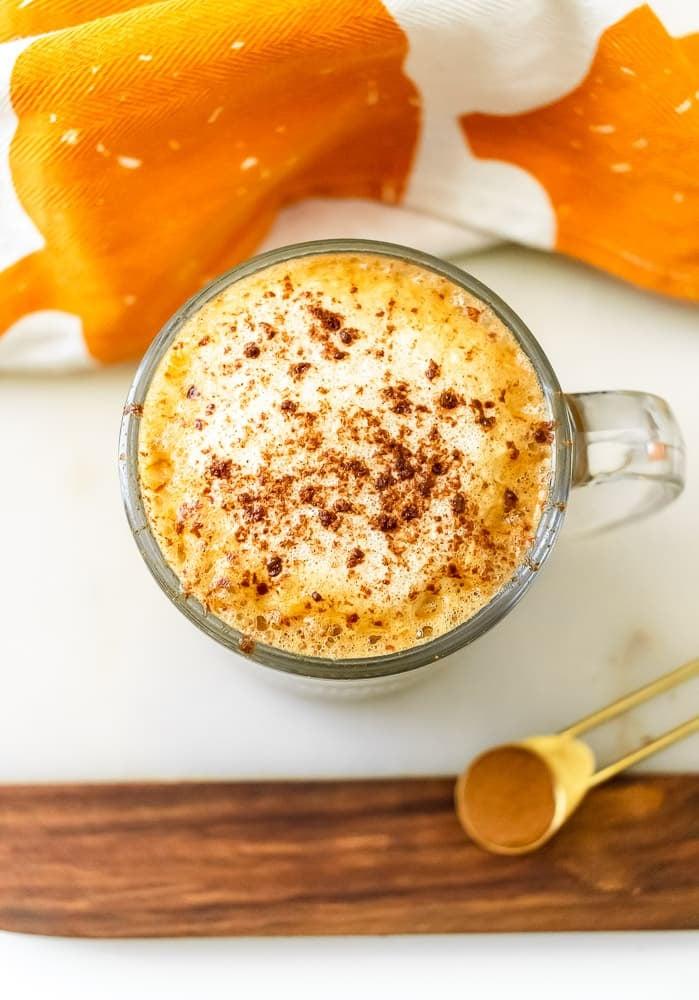 Pumpkin Spice Oat Milk Latte 2