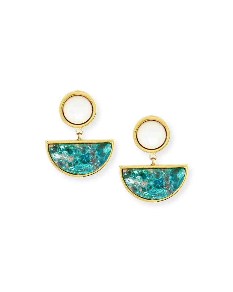 Lizzie Fortunato Geometry Surf Drop Earrings ($265)