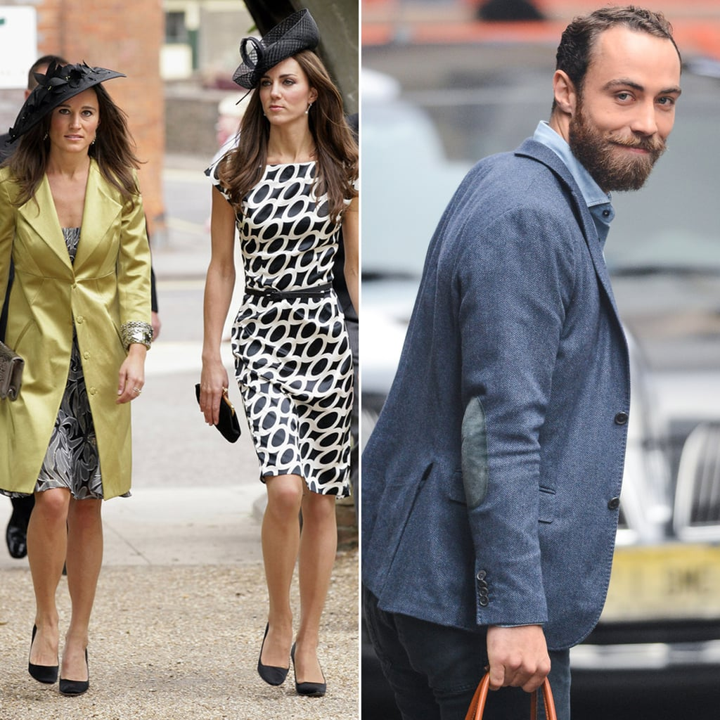 Kate, Pippa, and James Middleton