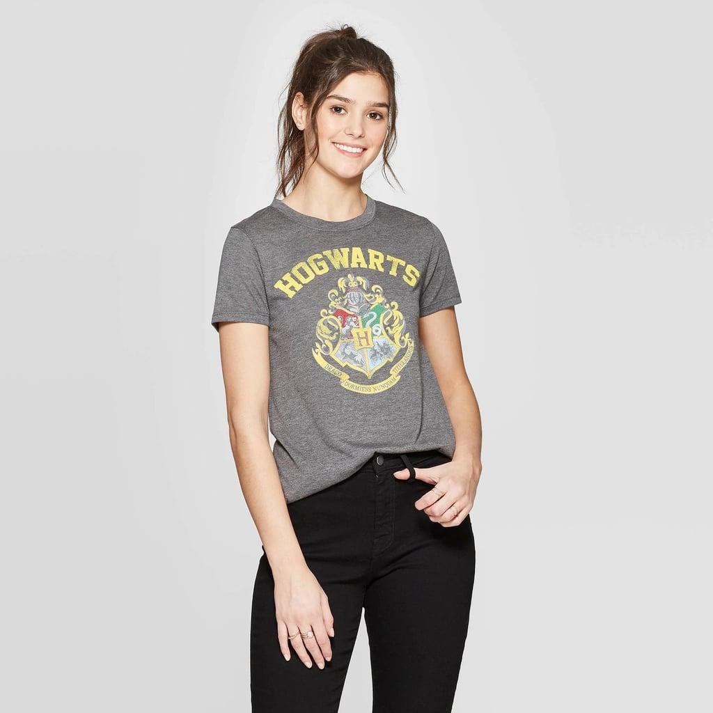 Women's Hogwarts Short-Sleeved Graphic T-Shirt
