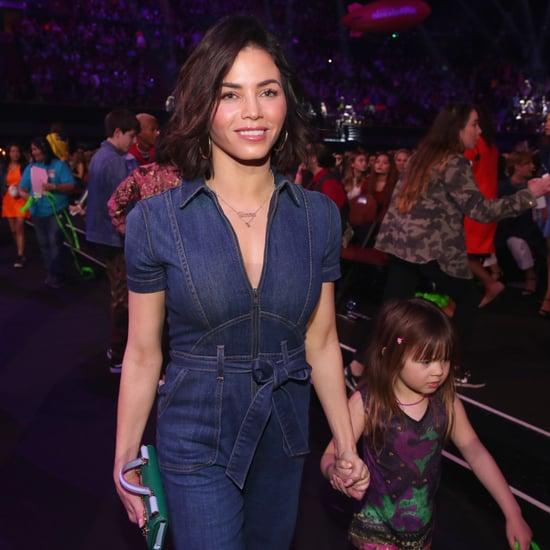 Jenna Dewan Tatum and Everly at Kids' Choice Awards 2018