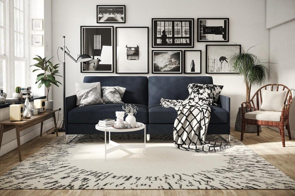 DHP Pembroke Convertible Futon Couch