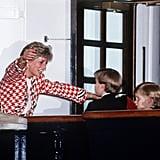 HMY Britannia, 1988