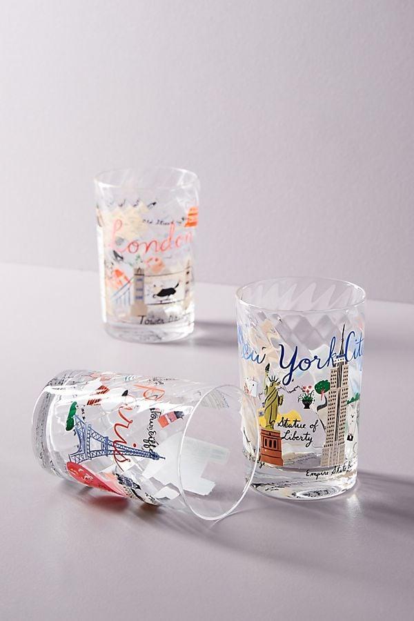 Libby VanderPloeg Skyline Juice Glasses
