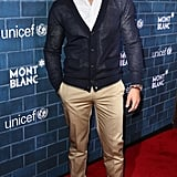 Jesse Metcalfe wore shades.