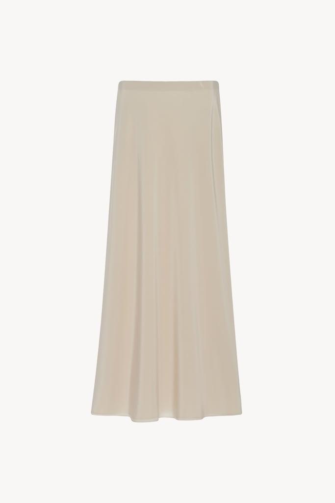 The Row Malena Skirt in Seashell