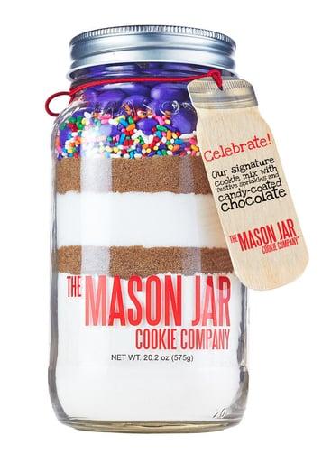 Celebrate! Festive Cookie Mix in a Mason Jar