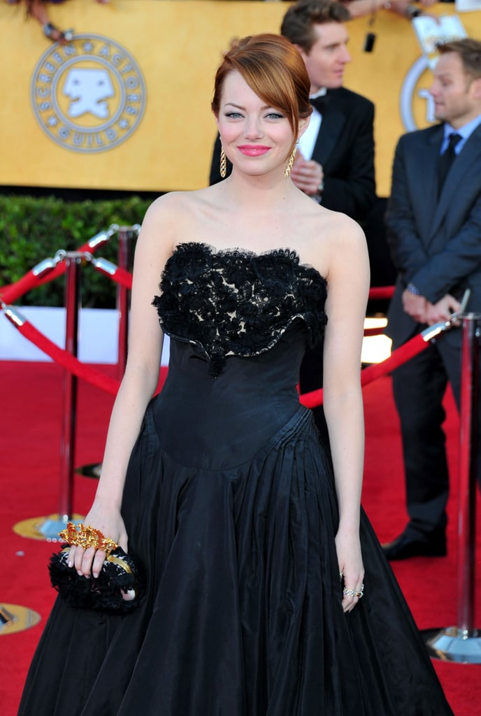 Emma Stone hit the red carpet for the SAG Awards.