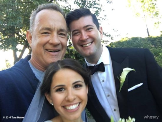 Tom Hanks photobombed a couple's wedding photos like only Tom Hanks could