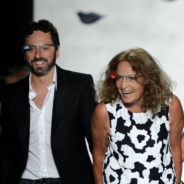 Google Glasses at Fashion Week
