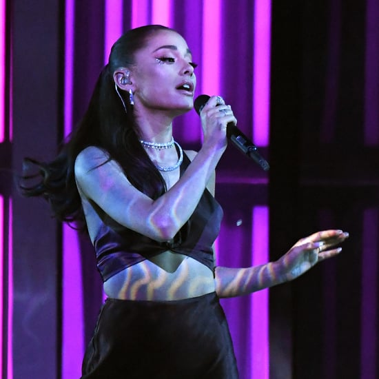 Ariana Grande Wore Her Wedding Hairstyle at iHeartRadio Show