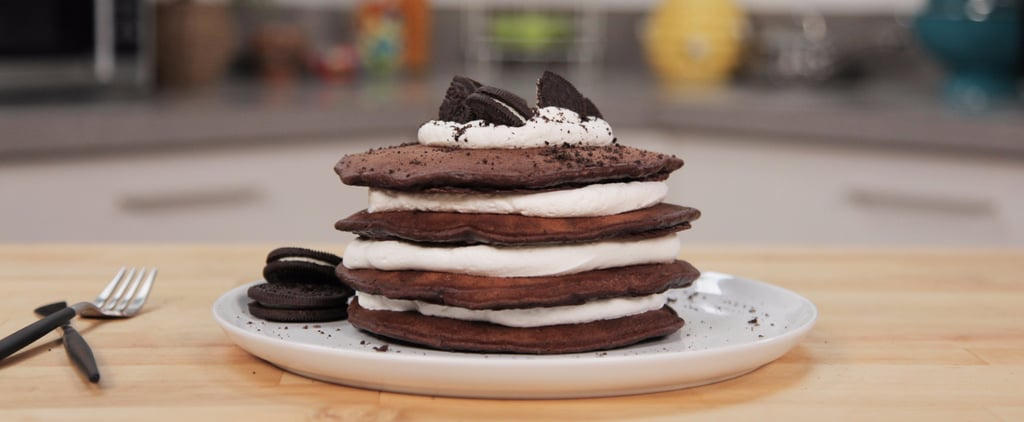 You Haven't Lived Until You've Tried These Oreo Pancakes