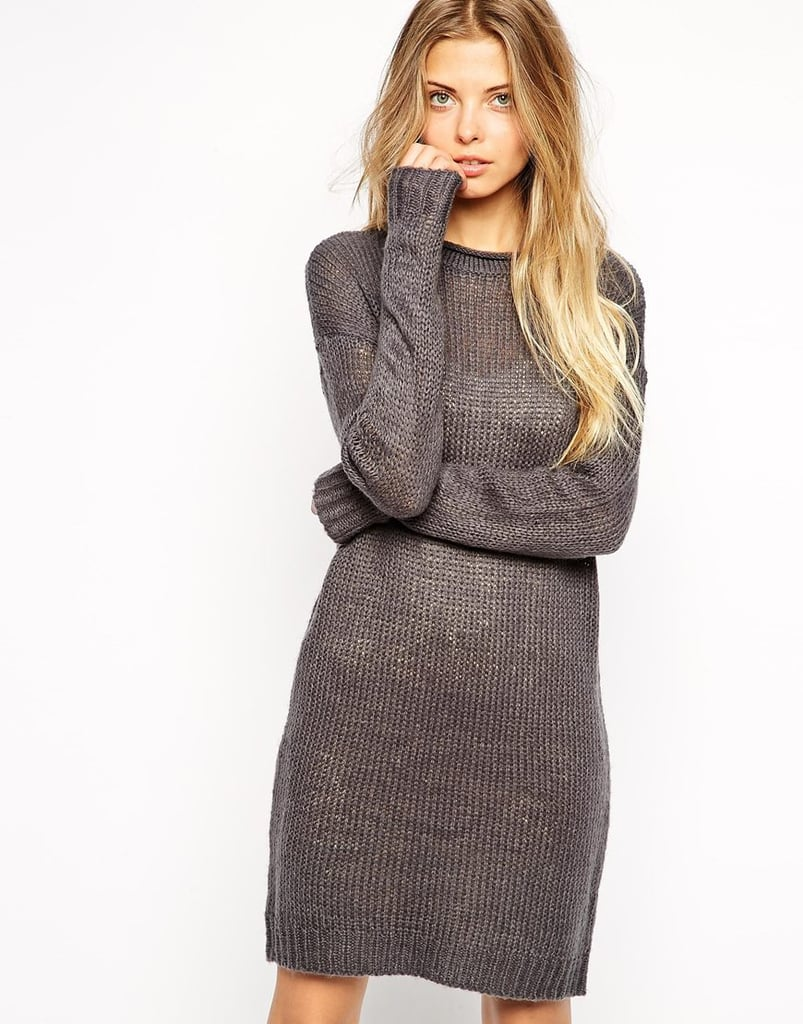 Noisy May Flecked Jumper Dress