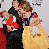 Jodie Sweetin and Daughters Zoie and Beatrix