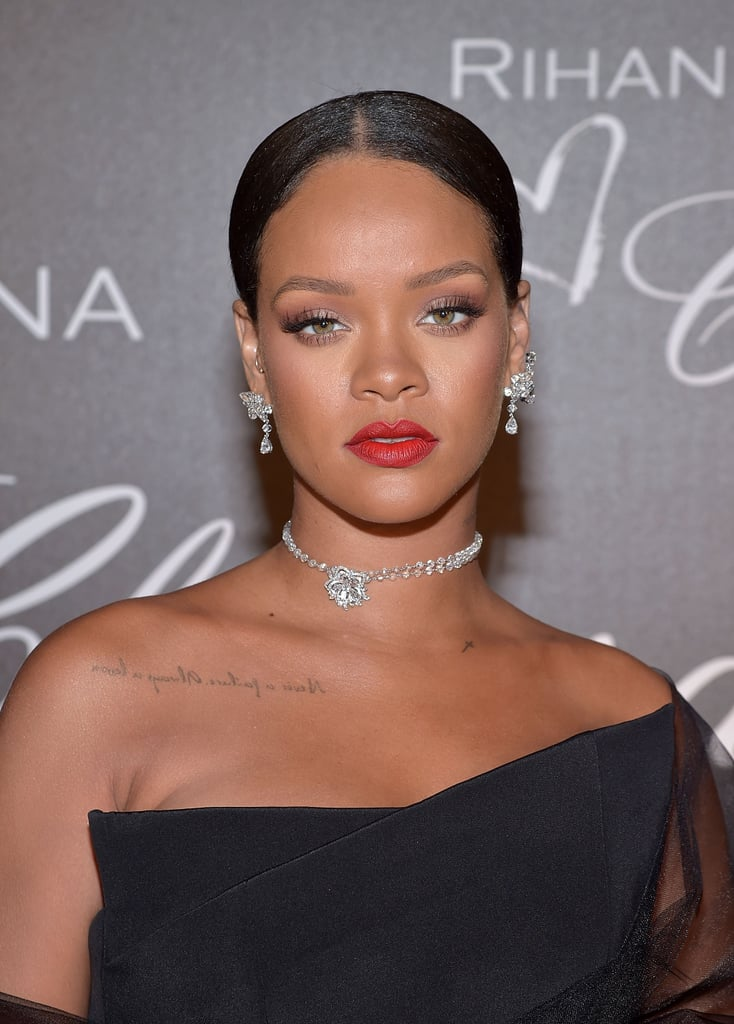 Rihanna Wearing Jewelry From the Rihanna X Chopard Collection