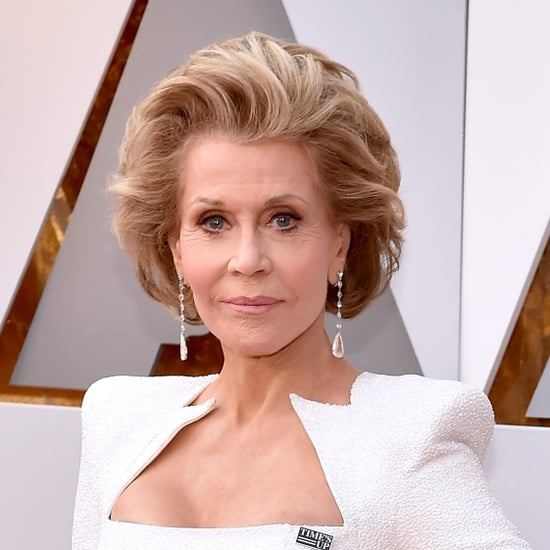 Jane Fonda Behind-the-Scenes Instagram at the 2018 Oscars